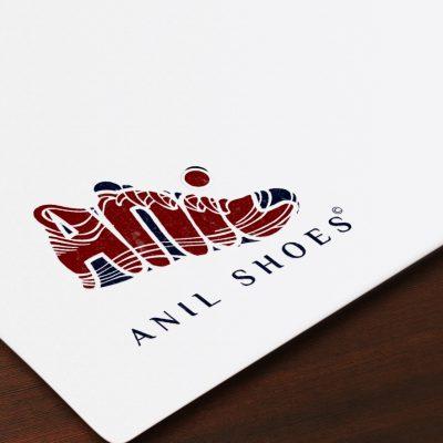 طراحی لوگو فروشگاه کفش آنیل