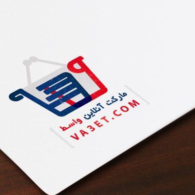 طراحی لوگو مارکت آنلاین واسط